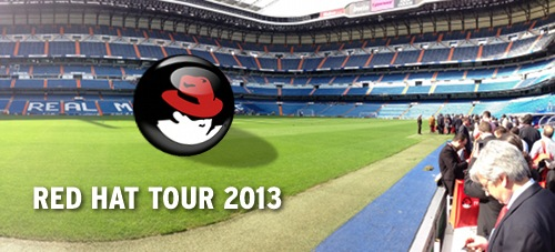 Red Hat Tour 2013 Madrid en el Santiago Bernabéu